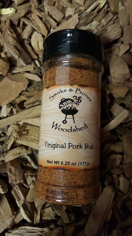 SBW, Original Pork Rub
