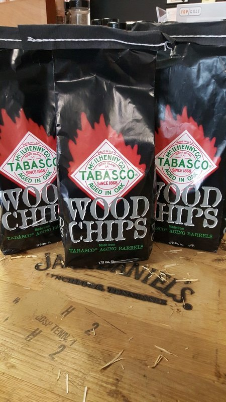 Wood, Tabasco Barrel Chips 2lbs