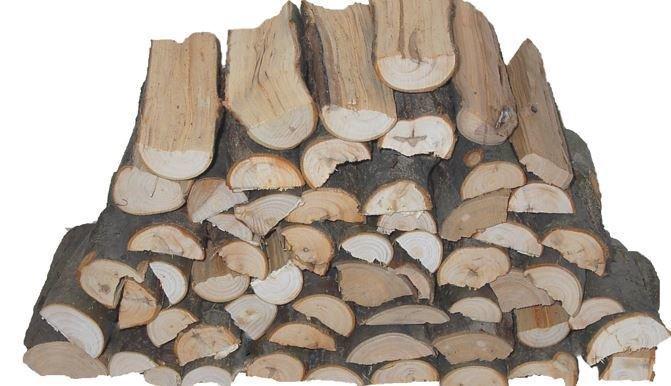 """Wood, Apple Split 6"""" 5lb"""