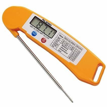 Instant Read Thermometer, Orange