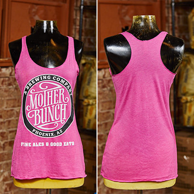 Mother Bunch Racer Back Tank - Pink