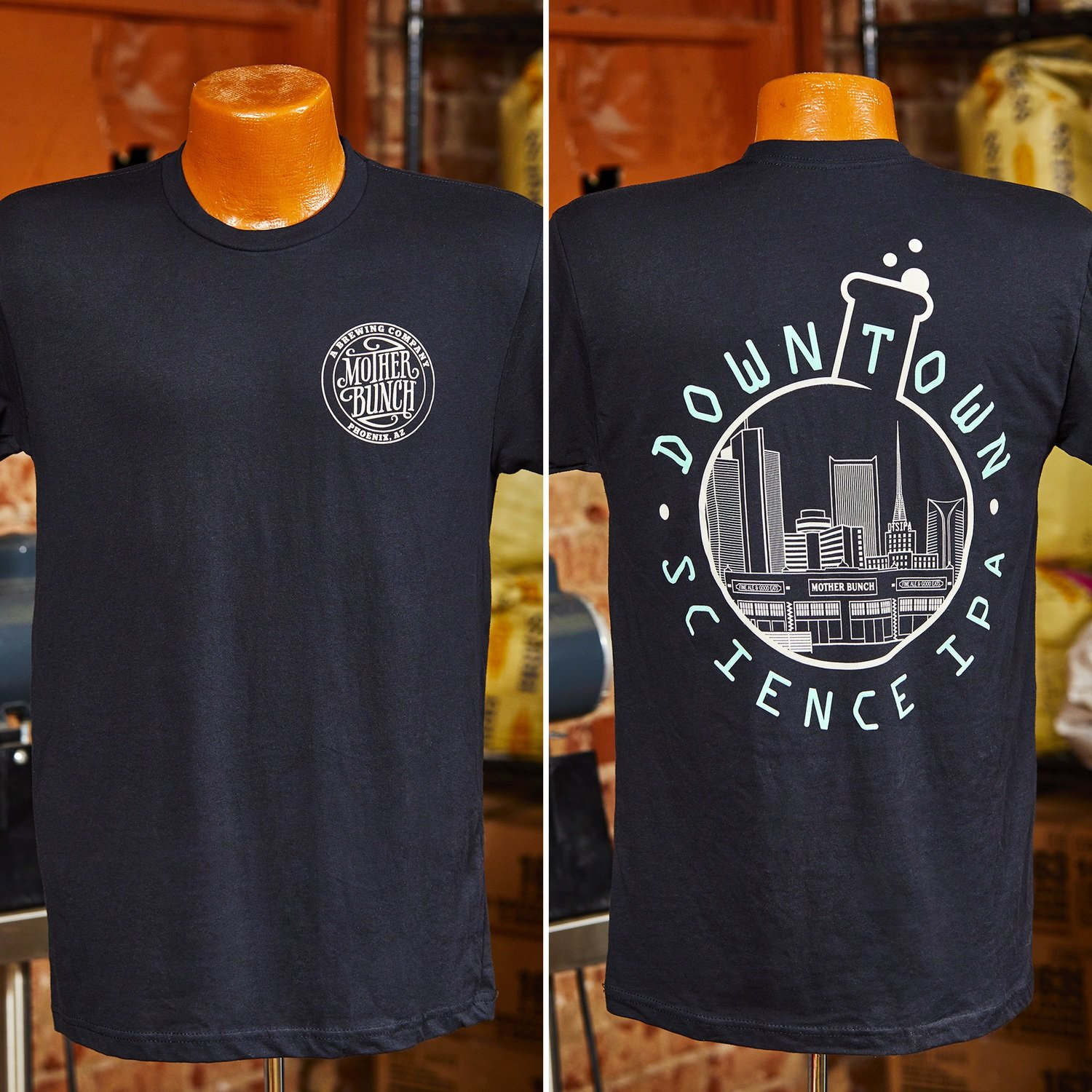 Downtown Science IPA Soft Tee - Black