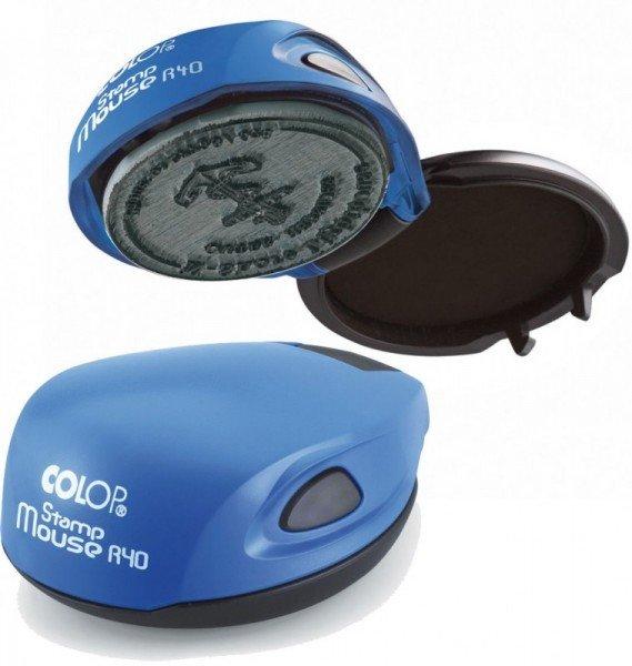 Карманная печать Colop mouse R40 Размер до d-40 мм 00003