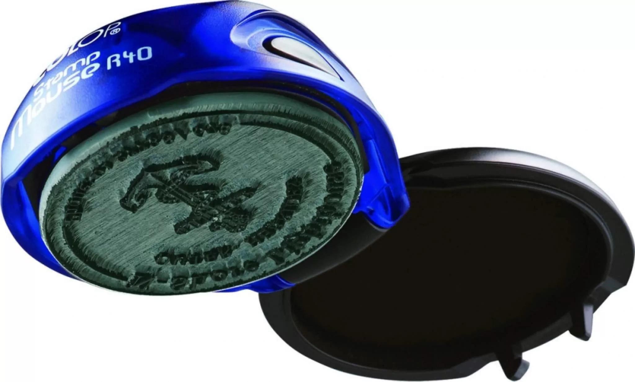 Карманная печать Colop mouse R40 Размер до d-40 мм
