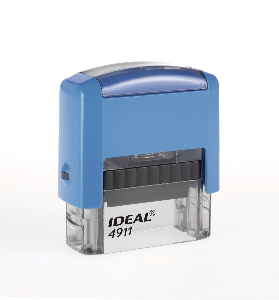 Штамп Автоматический IDEAL 4911 Размер поля 38х14 мм. 00007