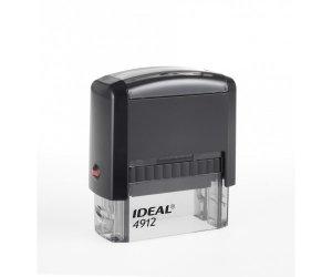 Штамп Автоматический IDEAL 4912 Размер поля 47х18 мм.