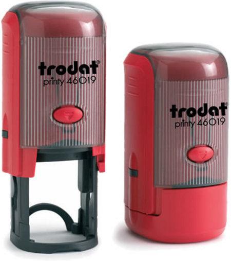 Автоматическая печать Trodat Printy 46019  (диаметр 19 мм.) с боксом 00034