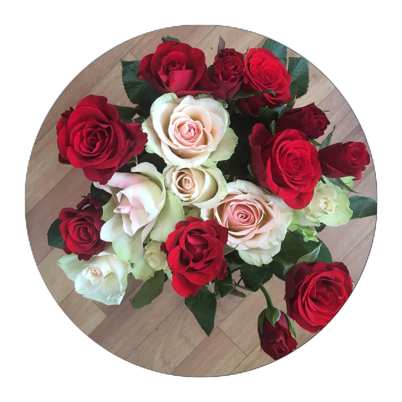 25 роз