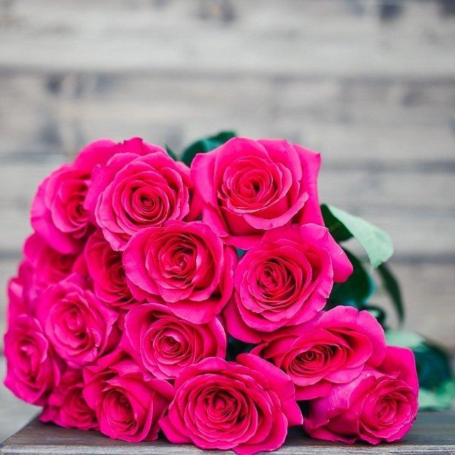 Букет из 25 роз Романтика