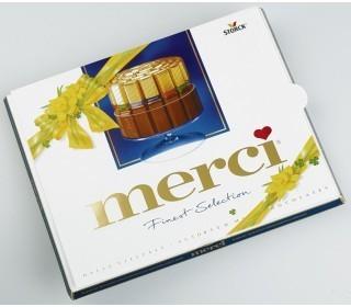 Шоколадные конфеты MERCI Молочный шоколад