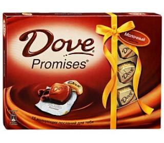 Шоколадные конфеты DOVE PROMISES Ассорти, 118г