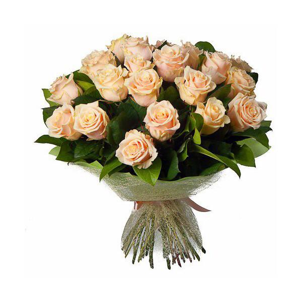 Весеннее утро букет из 35 роз
