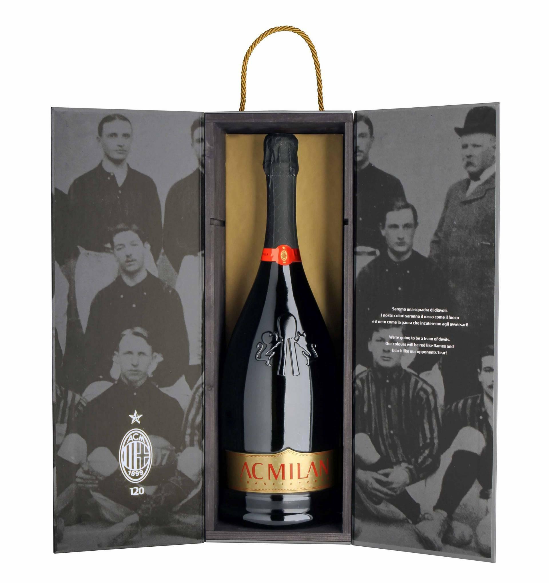 Magnum Franciacorta RossoNero anniversario 120° Ac Milan 15069