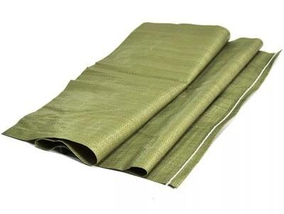 Мешок плетеный зеленый