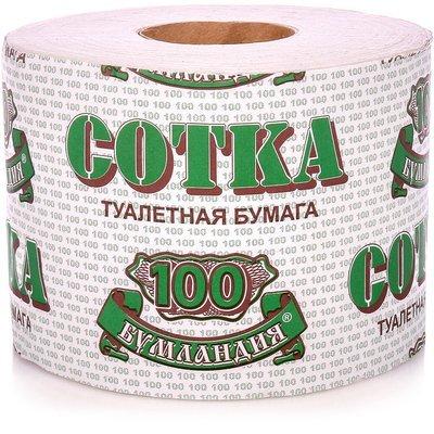 Бумага 100м туалетная