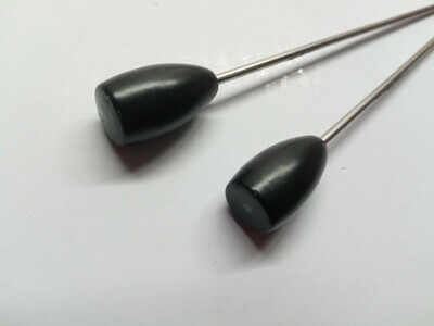 23g Bullet Tungsten Counter Weight (Black)