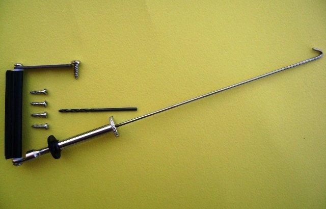 Gooseneck-Boom Vang for Round Mast, IOM