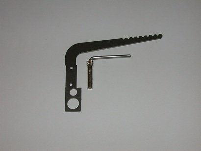 Backstay crane and Head Fitting part # 23T for tapered 12 CF