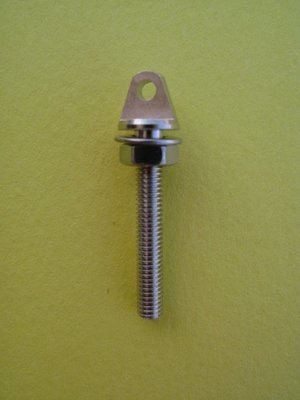 Eyebolt, Flat Sides M3 x 20mm