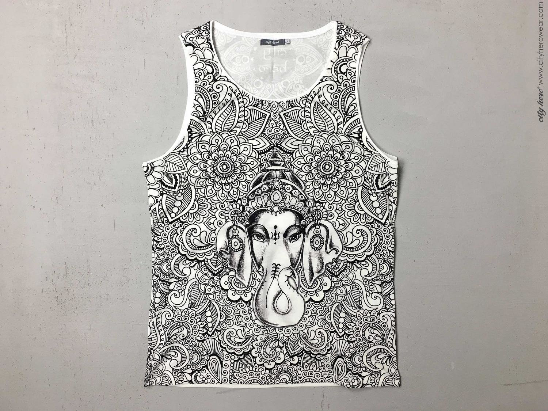 Ganesha's Garden [TANK-TOP MEN]