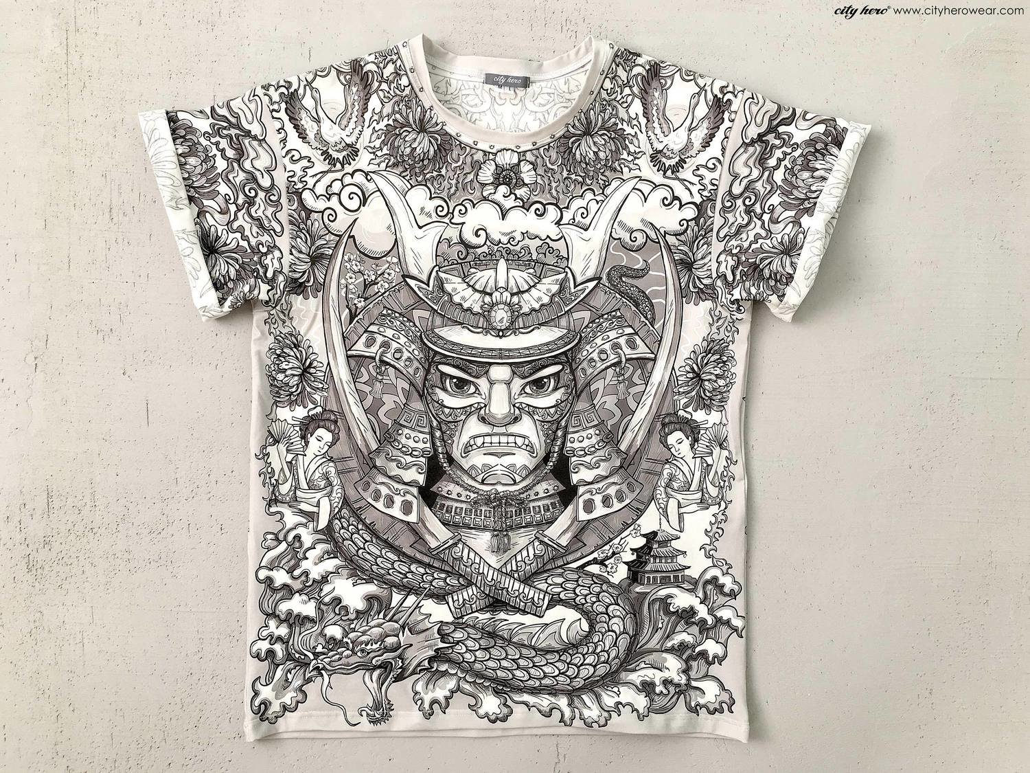 SAMURAI STORY 4.0 [T-SHIRT MEN]