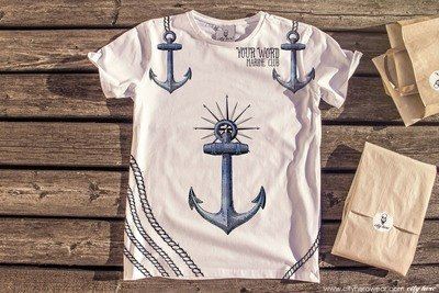 Marine Club I PERSONAL [ФУТБОЛКА МУЖСКАЯ]
