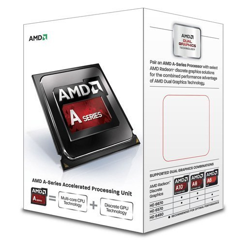 AMD A8-6500 Richland 4.1GHz Socket FM2 65W Quad-Core Desktop Processor AMD Radeon HD AD6500OKHLBOX TGISCTC00026