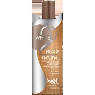 NIEUW! White 2 Black Natural 260ml