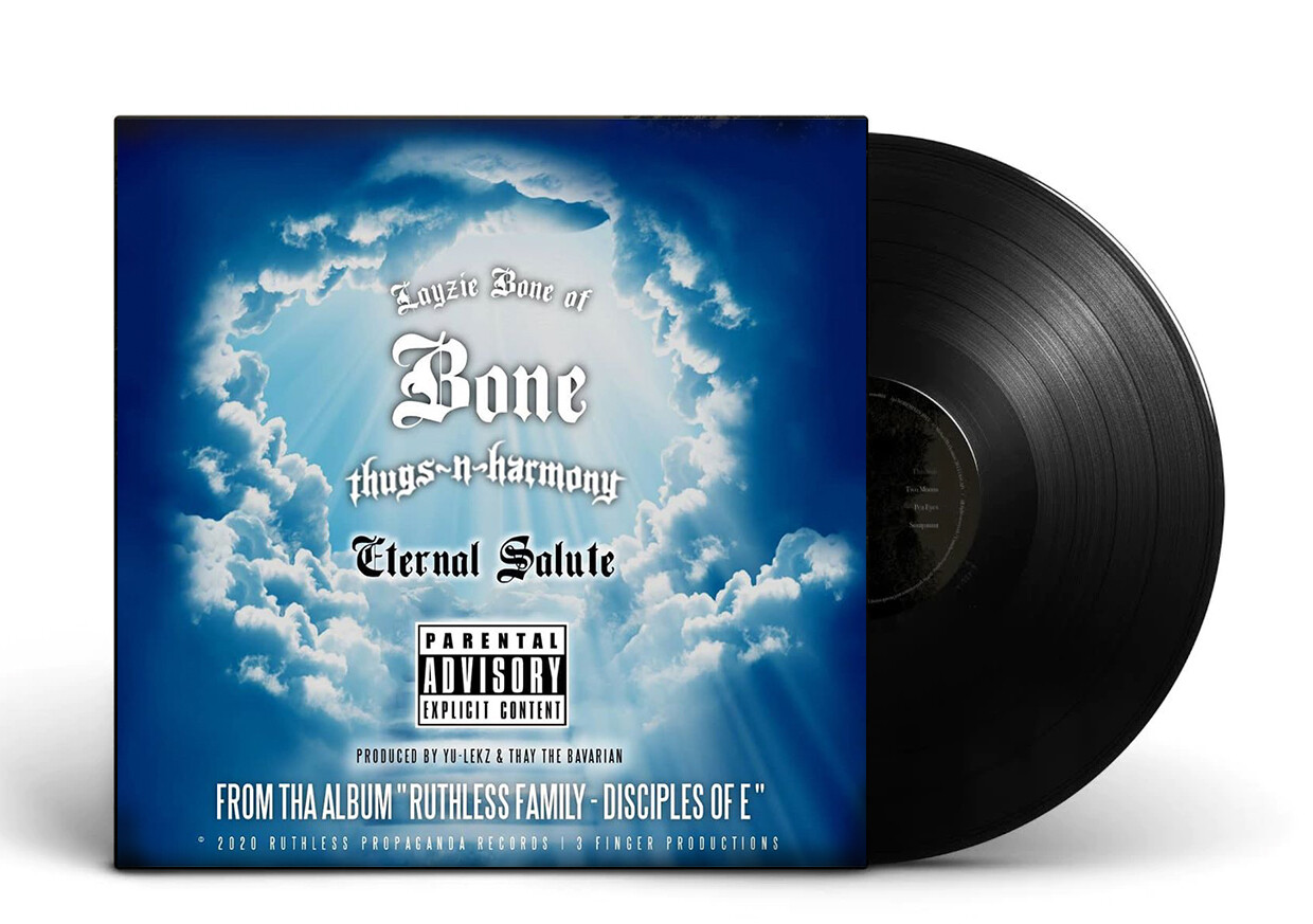 Eternal Salute : Layzie Bone Vinyl Record Single +Digtial Single Download