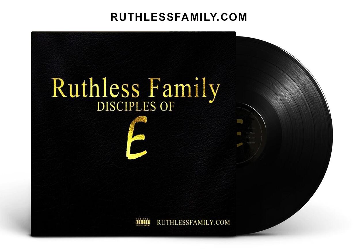 Ruthless Family : Disciples of E  (Vinyl Record + CD + Digital PRE ORDER) #eazye #ruthlessfamily