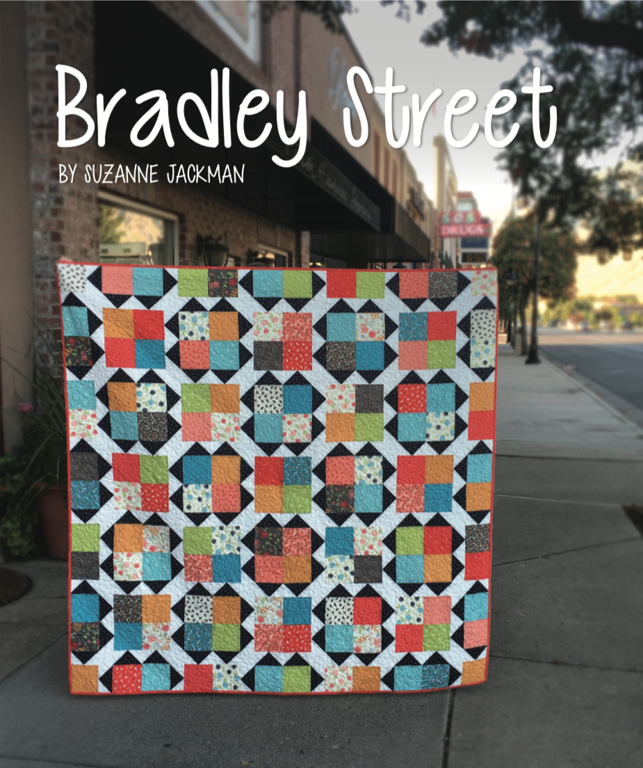 Bradley Street - FREE Quilt Pattern - PDF Download