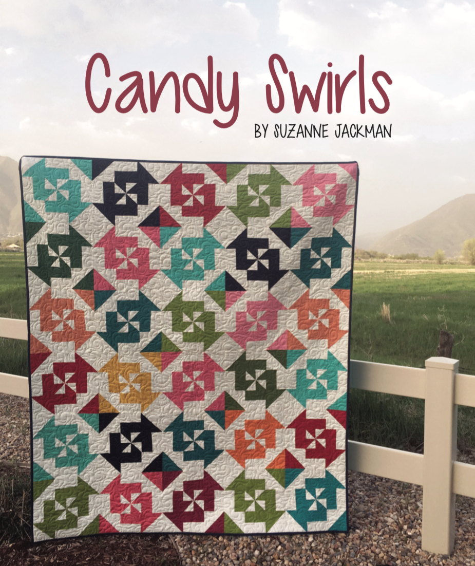Candy Swirls - FREE Quilt Pattern - PDF Download