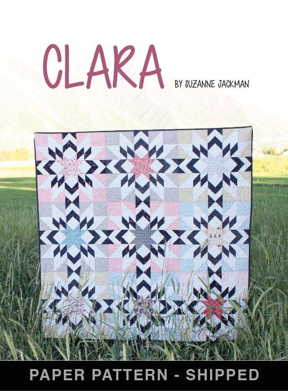Clara - Quilt Pattern - Paper Pattern