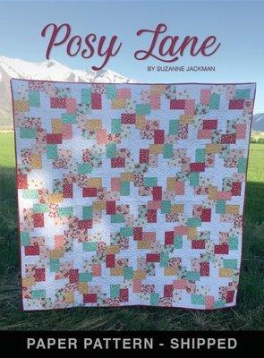 Posy Lane - Quilt Pattern - Paper Pattern