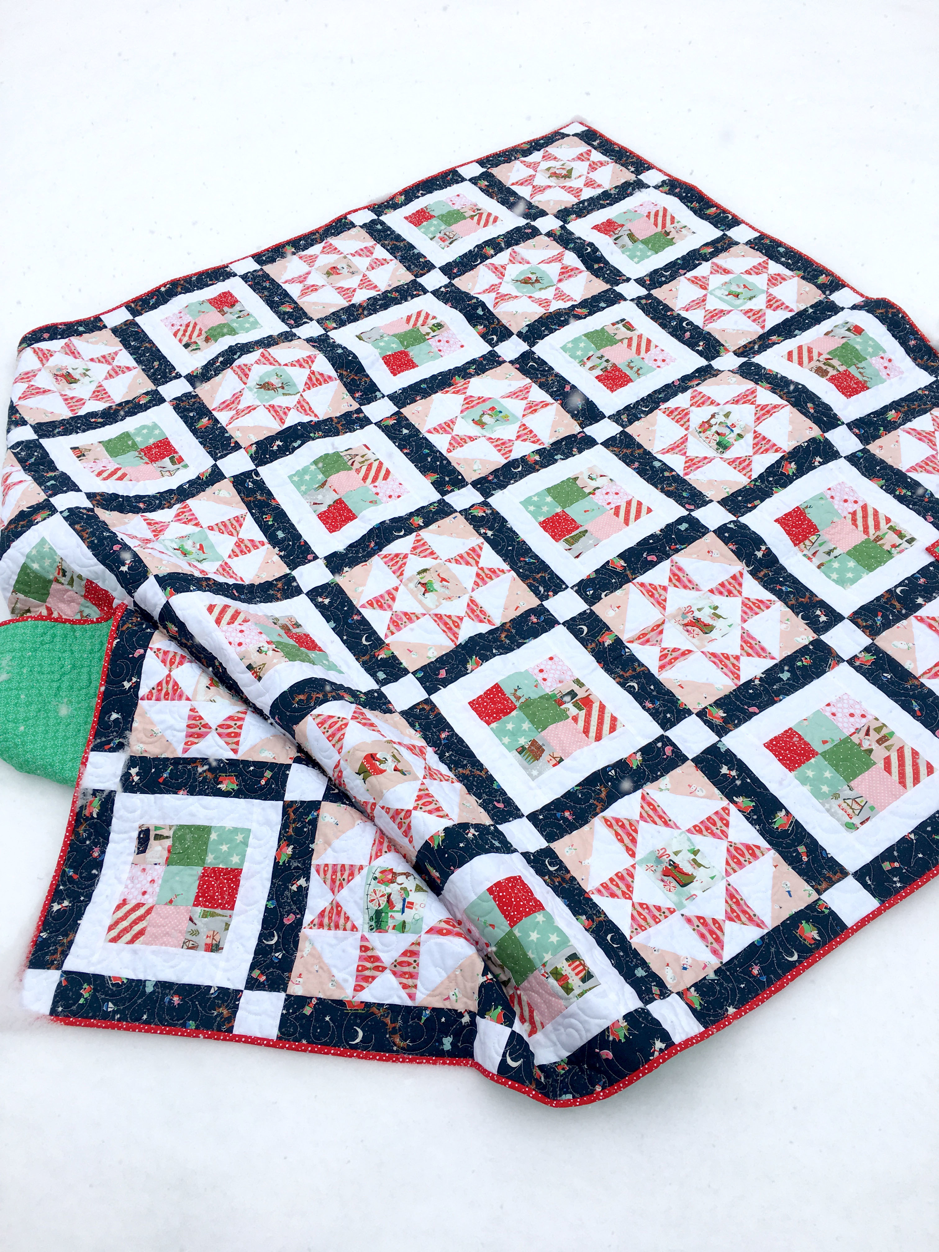 Free Christmas Quilt Block Patterns.Glad Tidings Free Quilt Pattern Pdf Download