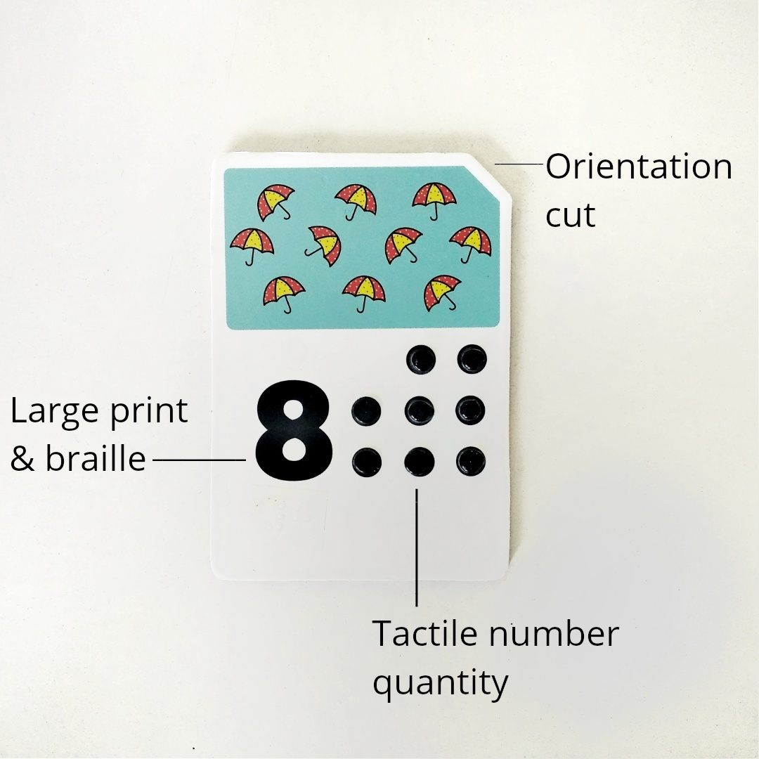 My counting book & cards
