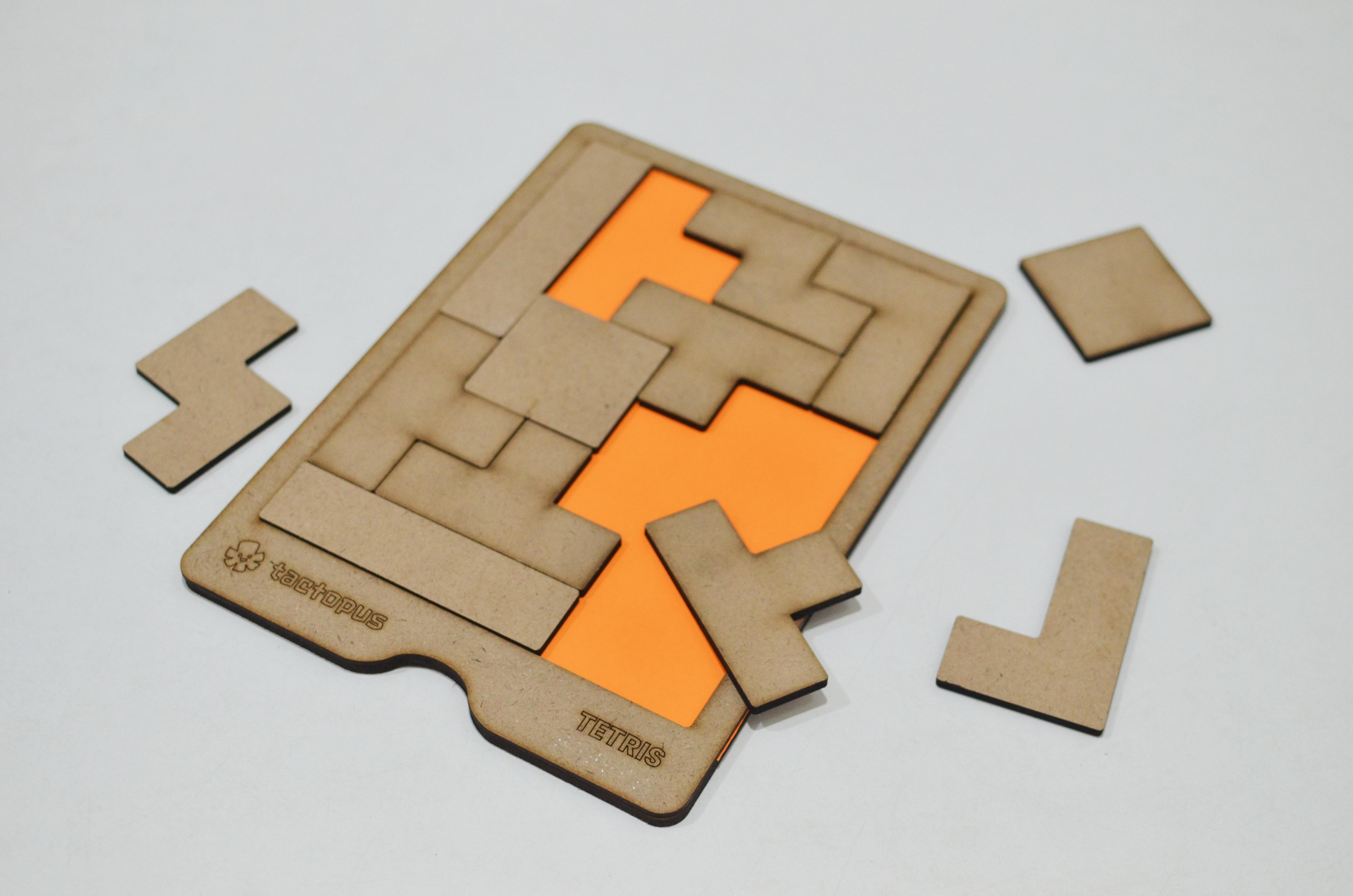 Tetromino Puzzle Board