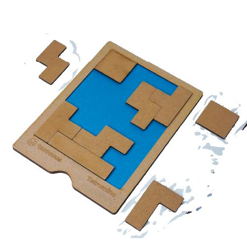 Tetromino Puzzle Board 00012