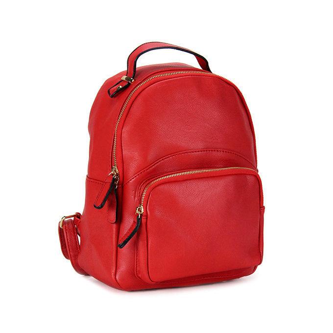Zaino c/tasca frontale red