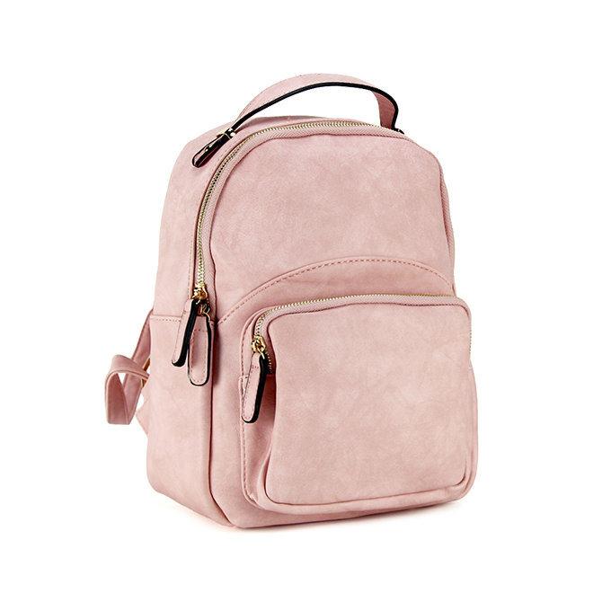 Zaino c/tasca frontale pink