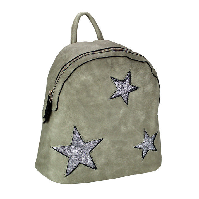 Zaino c/stelle grey