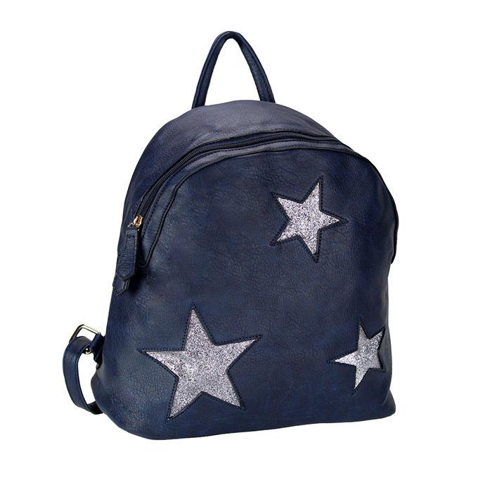 Zaino c/stelle blue