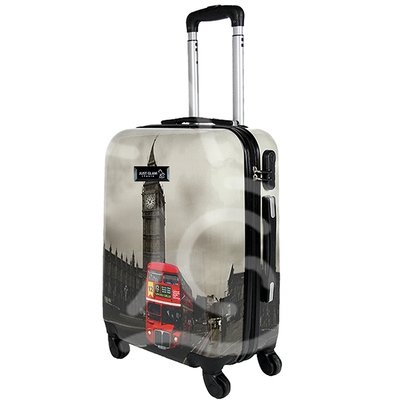 Trolley da cabina  justglam  ultraleggero  50cm fantasia london bus
