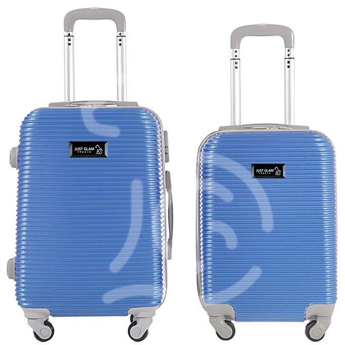 Coppia di 2 trolley da cabina mis.50 e 55 cm royal