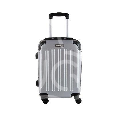 Trolley da cabina  justglam  ultraleggero 50cm argento