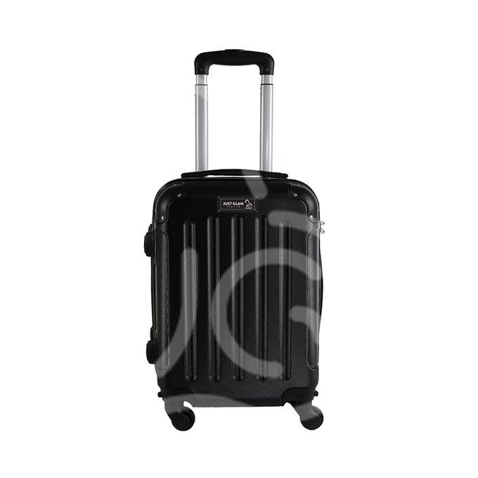 Trolley da cabina  justglam  ultraleggero 50cm nero