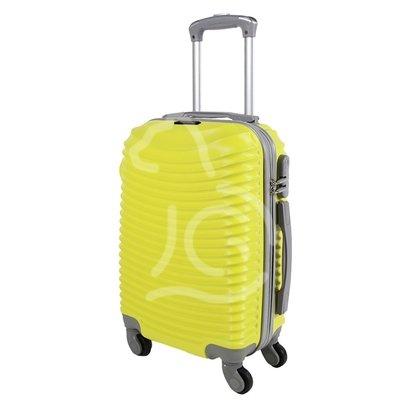 Trolley da cabina  justglam  ultraleggero  50cm giallo