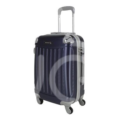 Trolley da cabina  justglam  ultraleggero  55cm blu