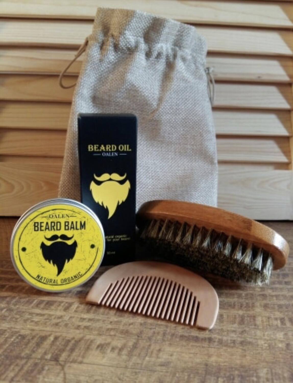 Men's Beard Oil Kit