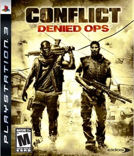 Conflict Denied Ops - PS3 - New